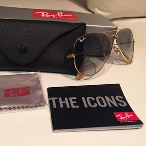 Ray-Ban Accessories - Authentic Ray-Ban Aviator Sunglasses - 58mm